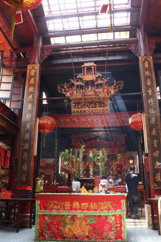 Temple chinois - China Town - Kuala Lumpur