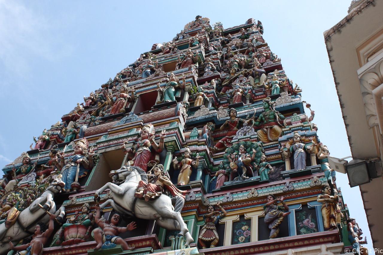 Temple hindoue - Kuala Lumpur