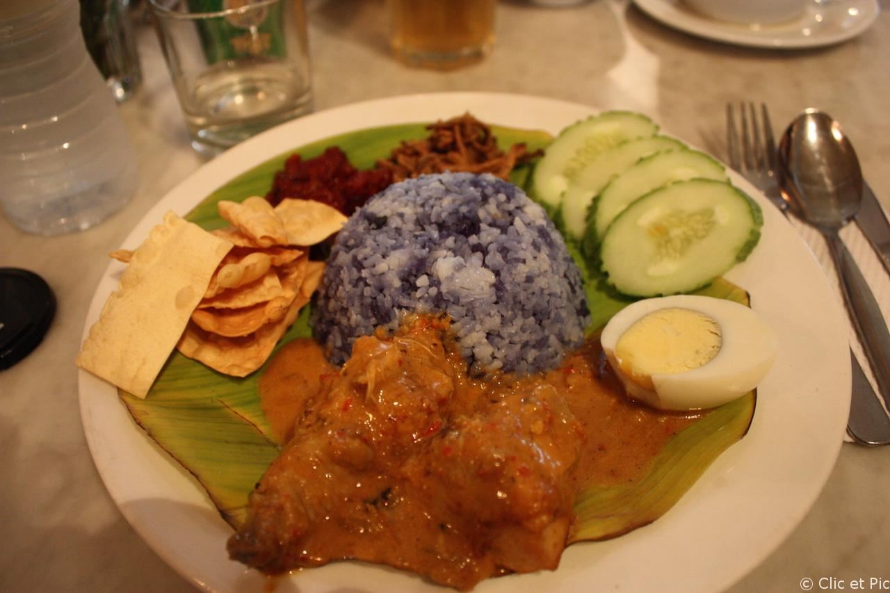 Nasi Lemak - Old china cafe - KL