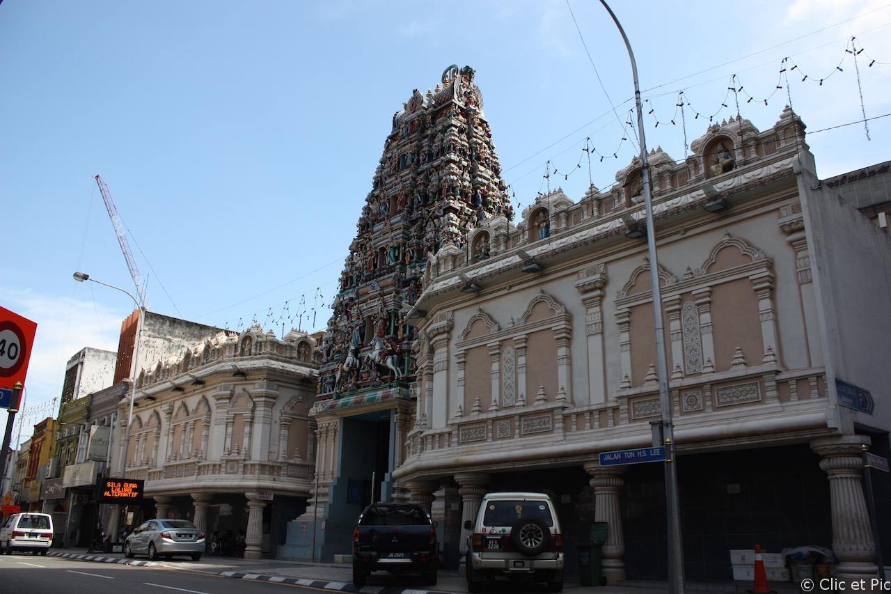 Temple hindoue - China Town - Kuala Lumpur