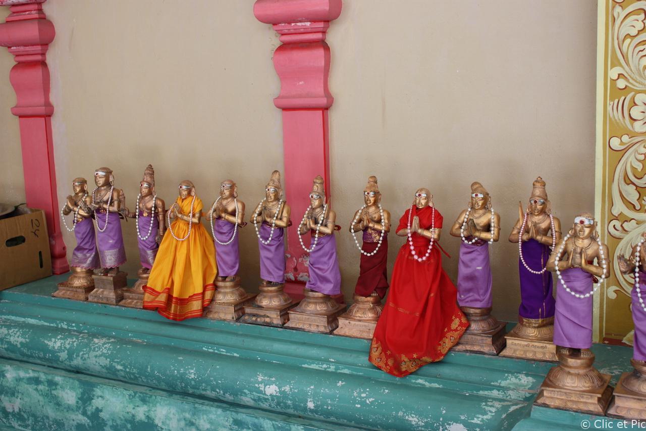 Icônes temple hindoue - Kuala Lumpur