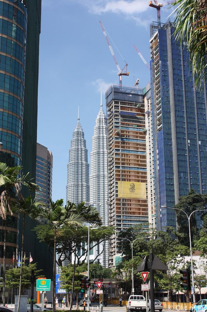 Les tours Petronas - Kuala Lumpur