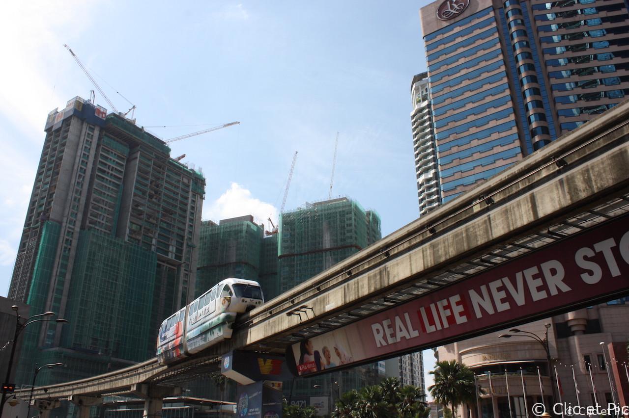Le métro de Kula Lumpur