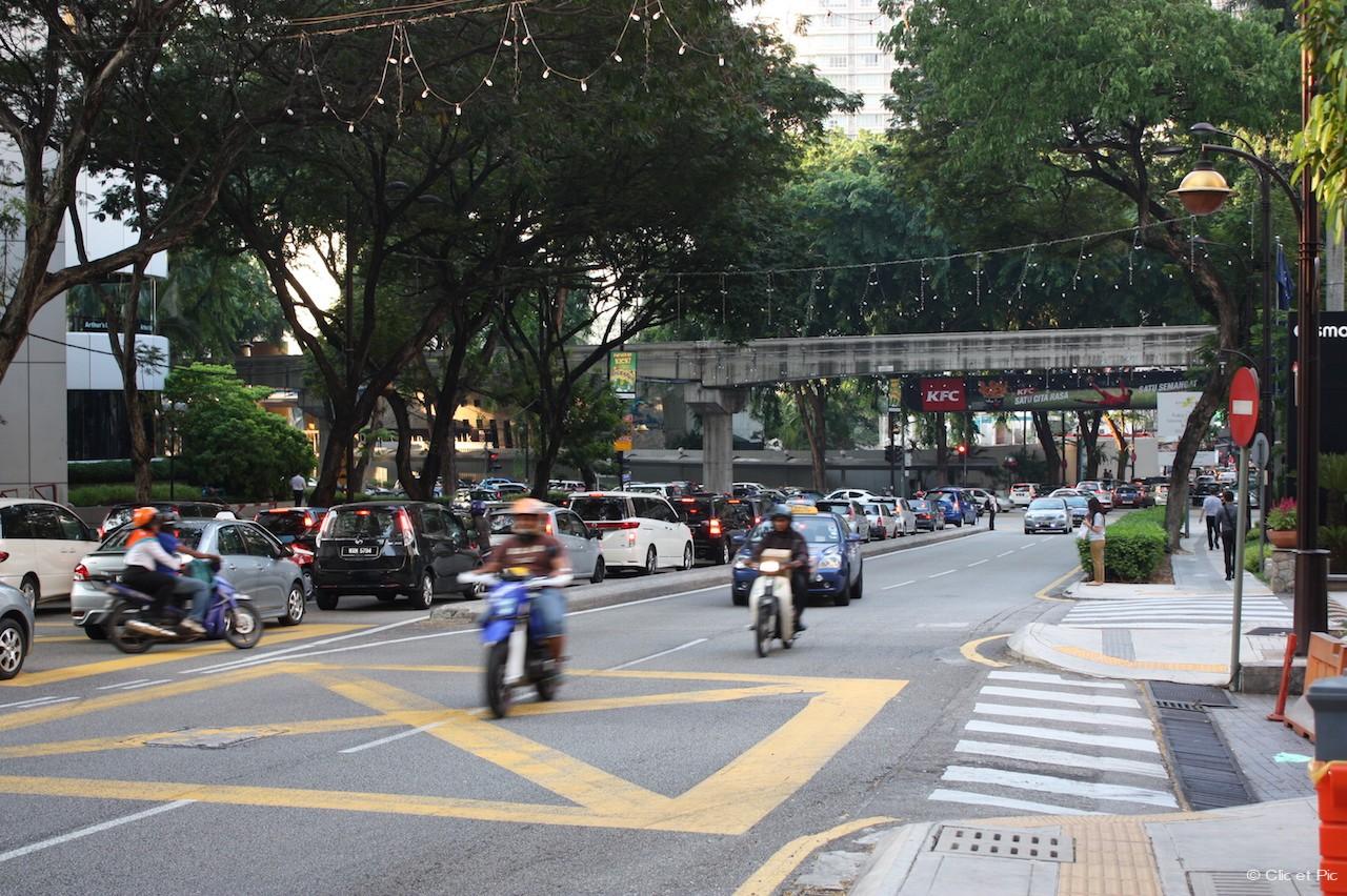 Les motos de KL - Kuala Lumpur