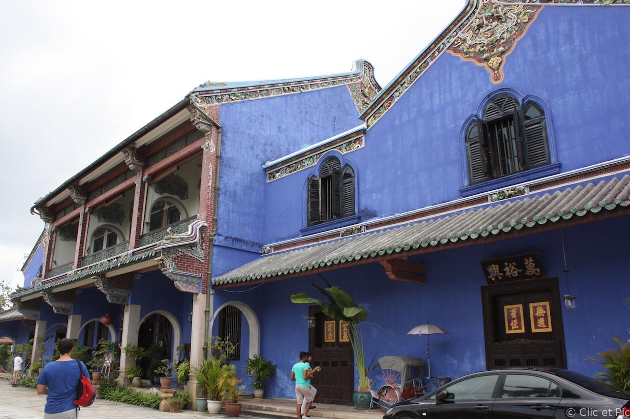 La maison bleue Penang