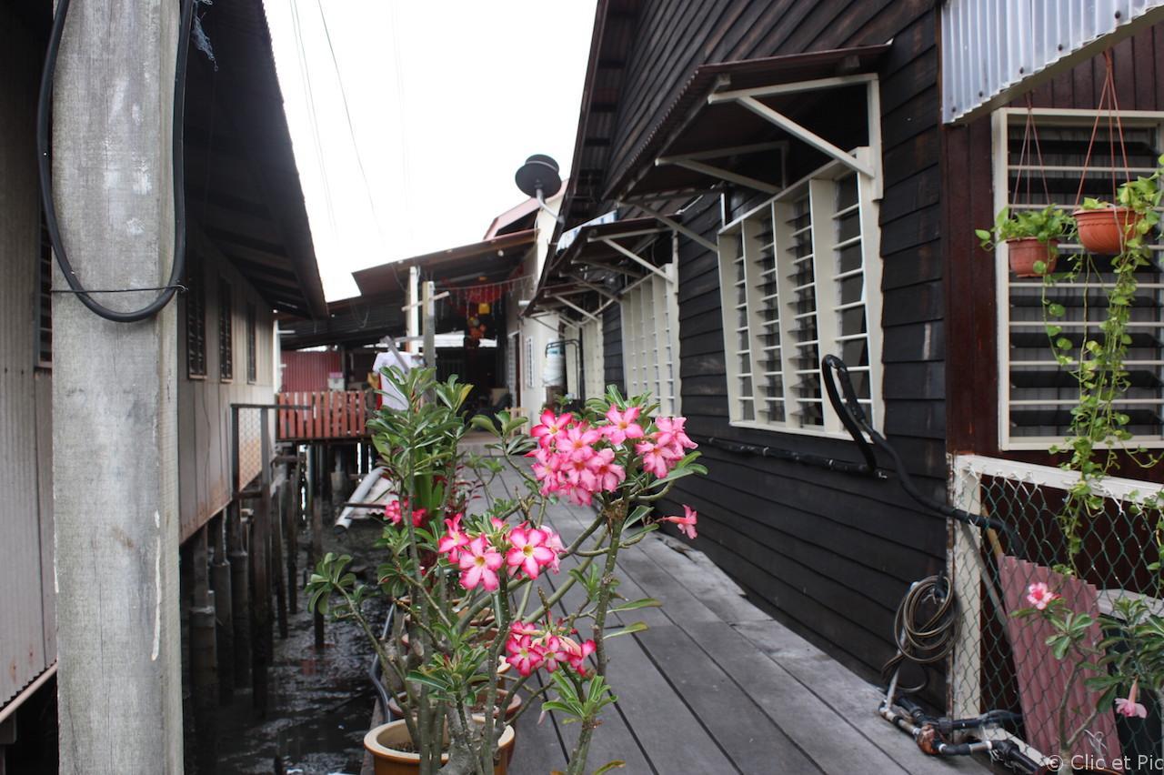 Maisons sur pilotis Penang