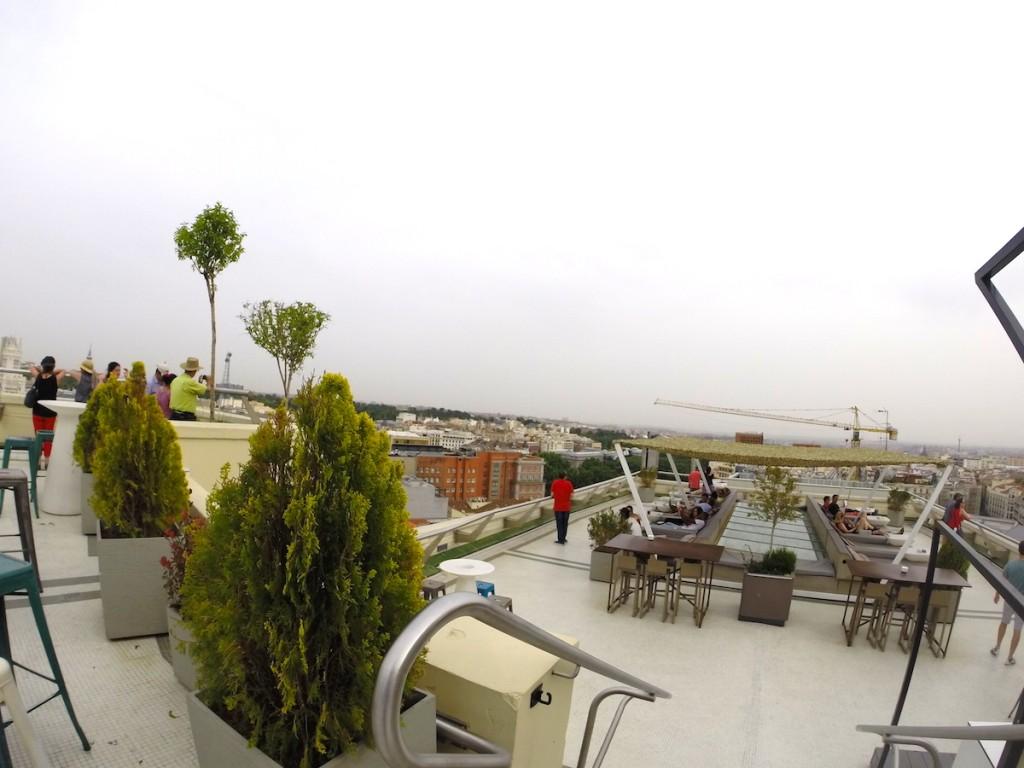 Roof top - Circulo de los Belllas Artes - Madrid