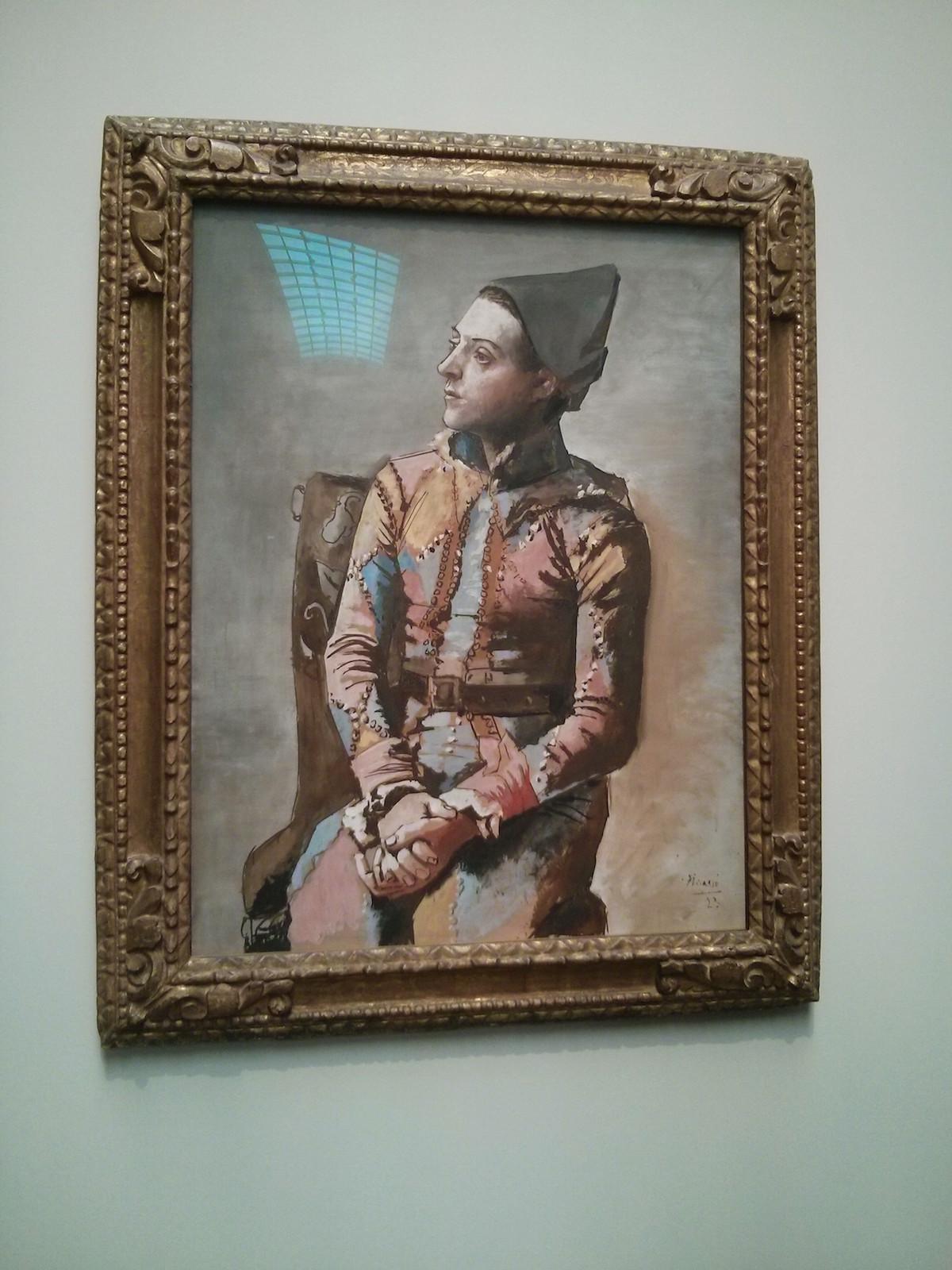 L'arlequin Picasso - El Prado - Madrid