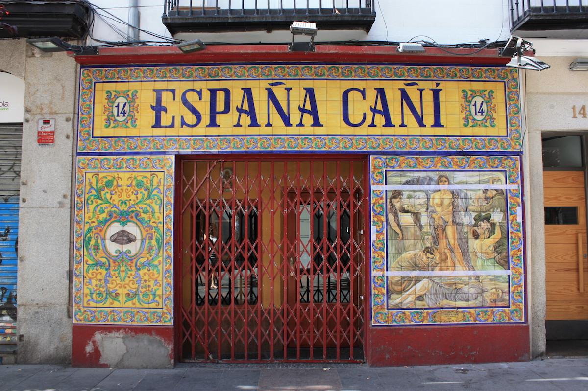 Espana Cani - Plaza Santa Ana - Madrid