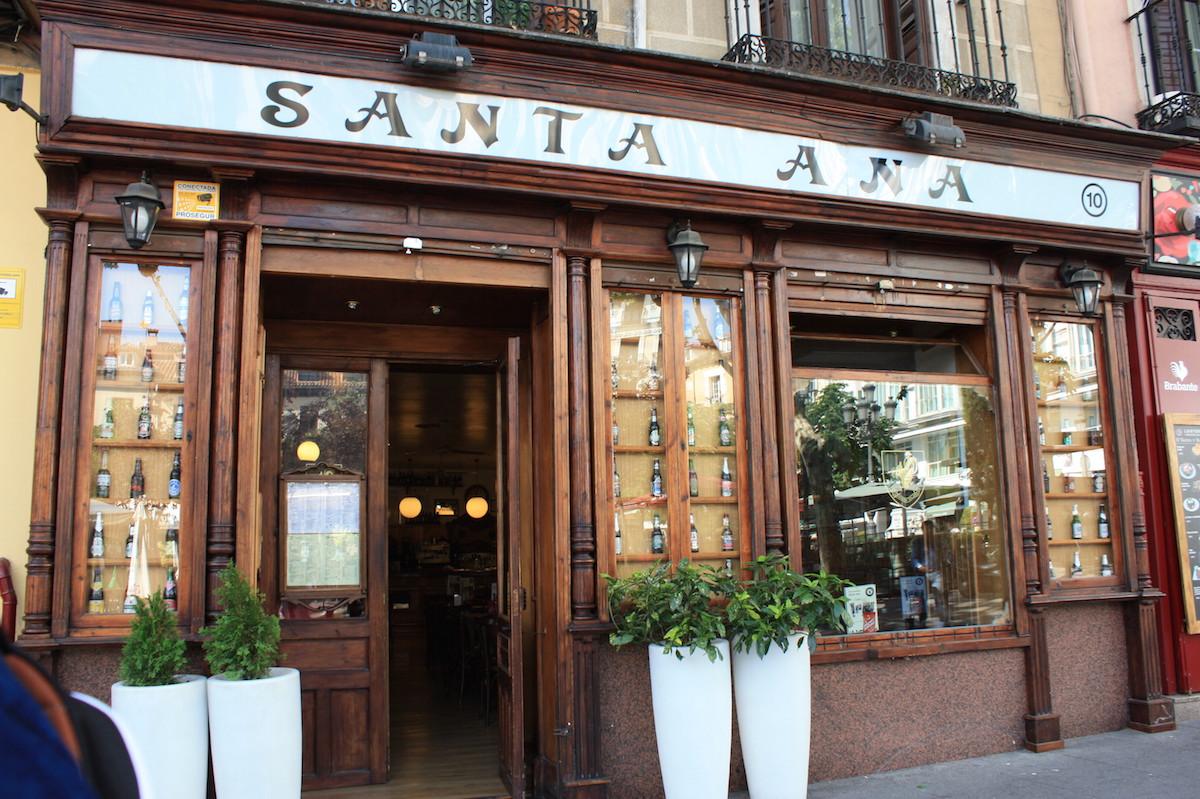 Plaza Santa Ana - Madrid