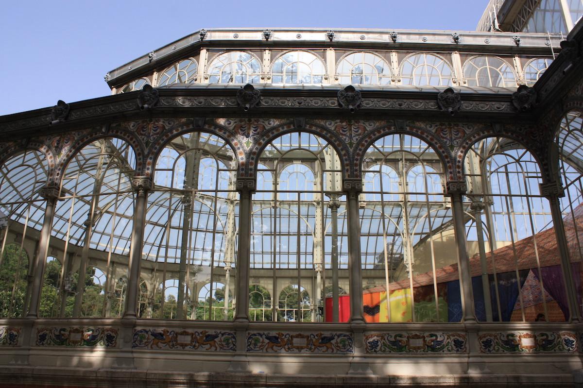 Palacio de Cristal - Parque del Retiro - Madrid
