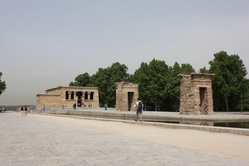 Temple d'Amon - Madrid
