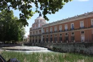Palais royal d'Aranjuez vue côté du Tage