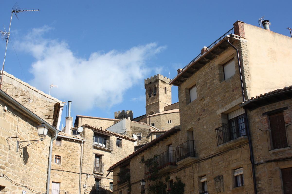 Village Uxue en Navarre
